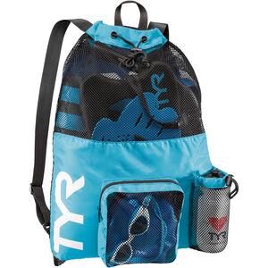 TYR Big Mesh Mummy Backpack blue blue