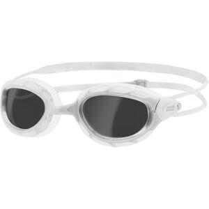 Zoggs Predator Brille white/white/smoke white/white/smoke