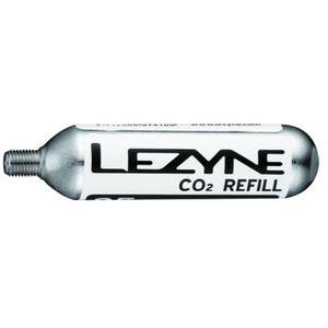 Lezyne 25G Threaded CO2 Cartridge 5 Stück silber silver