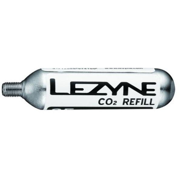 Lezyne 25G Threaded CO2 Cartridge 5 Stück silver