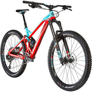 Mondraker Dune R Flame Red/Light Blue