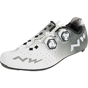Northwave Revolution Shoes Herren white/grey white/grey