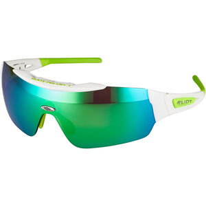 Rudy Project Ergomask Glasses white gloss/multilaser green white gloss/multilaser green