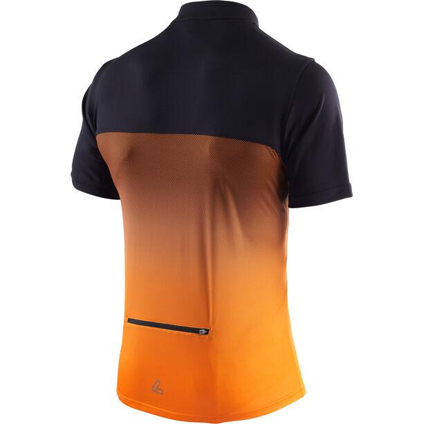 Löffler Flow Half-Zip Bike Shirt Men orange