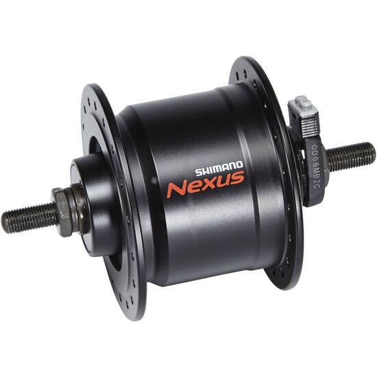 Shimano Nexus DH-C3000-3N Nabendynamo 3 Watt für Felgenbremse/Schraubachse Schwarz bei fahrrad.de Online