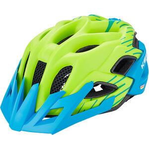 KED Status Jr. Helmet Kids green blue matt bei fahrrad.de Online