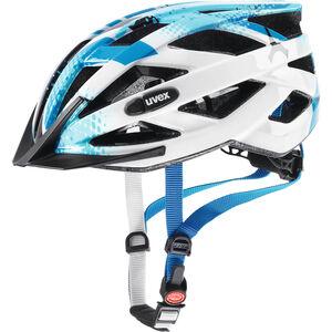 UVEX Air Wing Helmet Kinder blue-white blue-white