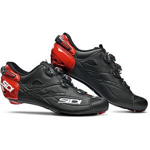 Sidi Shot Shoes Herren matt black/red matt black/red