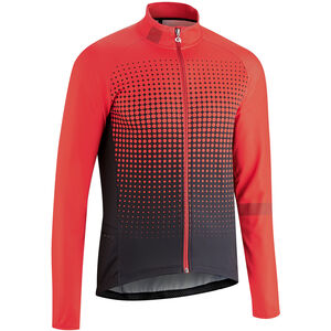 Gonso Julier Full-Zip Langarm Trikot Herren high risk red high risk red