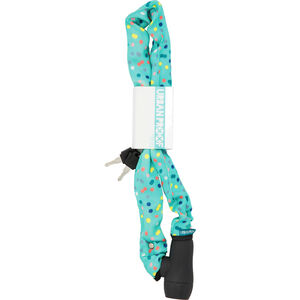 URBAN PROOF Chain Lock 90cm Confetti Dots Mint