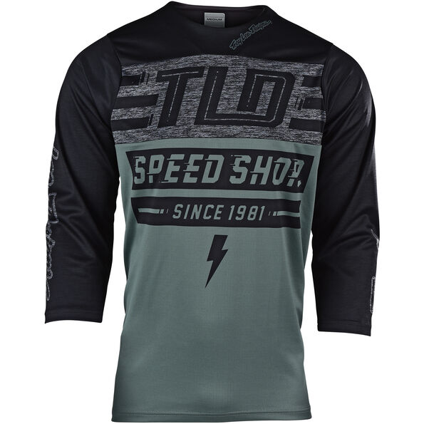 Troy Lee Designs Ruckus 3/4 Jersey Herren bolt/fatigue green/black