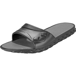 arena Watergrip Pool Sandals Damen black-dark grey black-dark grey