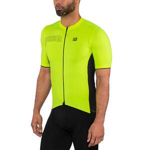 Alé Cycling Solid Color Block SS Jersey Men flou yellow bei fahrrad.de Online