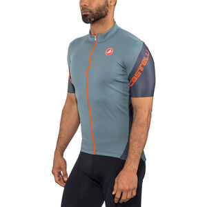 Castelli Entrata 3 FZ Jersey Men light steel blue