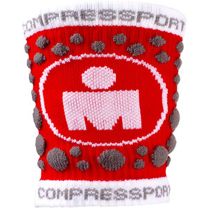 Compressport 3D Dots Sweatband Ironman Edition red red