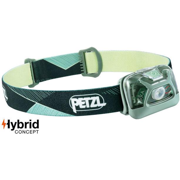 Petzl Tikka Stirnlampe green