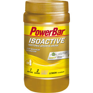 PowerBar Isoactive Isotonic Sports Drink Dose 600g Lemon