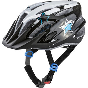 Alpina FB 2.0 Flash Helmet Juniors black-white-blue bei fahrrad.de Online