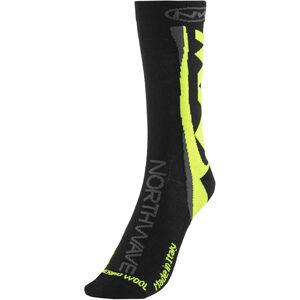 Northwave Extreme Winter High Socks Black/Yellow Fluo bei fahrrad.de Online