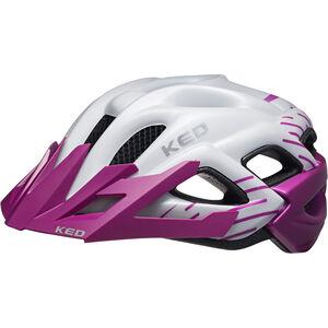 KED Status Helmet Kinder violett pearl matt violett pearl matt