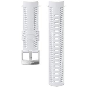 Suunto Athletic 2 Silicone Strap white/steel white/steel