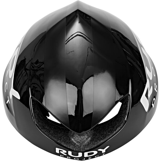 Rudy Project Boost Pro Helmet black shiny-white matte