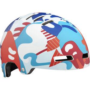 Lazer Street+ Helmet Kinder matte camo red-blue matte camo red-blue