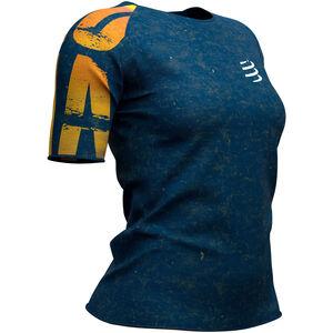 Compressport Training Kona 2019 SS T-Shirt Damen blue blue