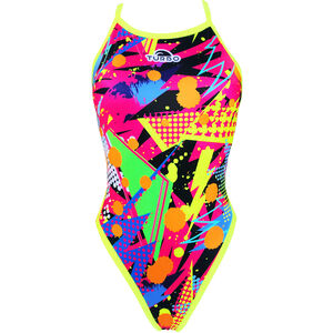Turbo Revolution Pop Party Swimsuit Damen yellow yellow