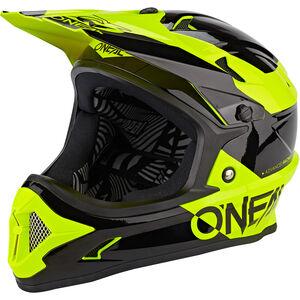 O'Neal Backflip Helm Bungarra black/neon yellow