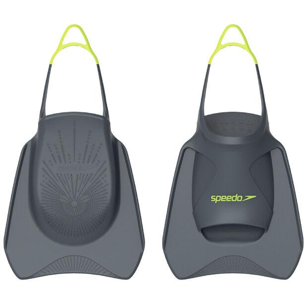 speedo Biofuse Fitness Flossen oxid grey/lime punch