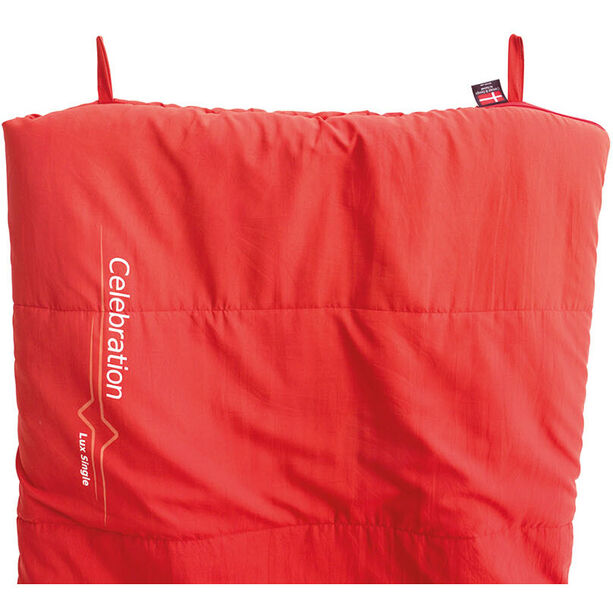 Outwell Celebration Lux Sleeping Bag red