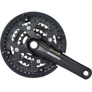 Shimano Trekking FC-T4010 Octalink Kurbelgarnitur 3x9-fach 44-32-22 Zähne schwarz schwarz