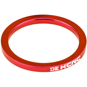 "KCNC Headset Spacer 1 1/8"" 3mm rot rot"