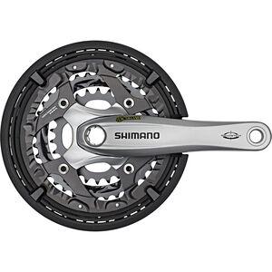 Shimano Trekking FC-T521 Octalink Kurbelgarnitur 3x10-fach 48-36-26 Zähne silber silber
