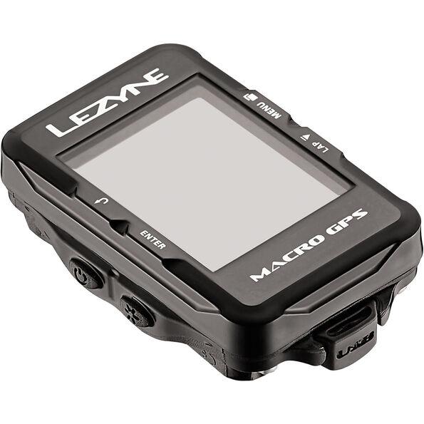 Lezyne Macro GPS Fahrradcomputer mit Herzfrequenzmessgerät und Speed Cadence Sensor