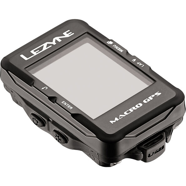 Lezyne Macro GPS Fahrradcomputer schwarz