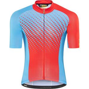 Mavic Crossmax Elite SS Jersey Men dresden blue/fiery red bei fahrrad.de Online