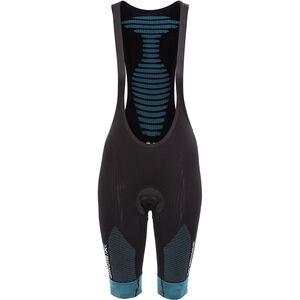 X-Bionic Effektor Power Biking Bib Tight Short Women Black/Turquoise bei fahrrad.de Online