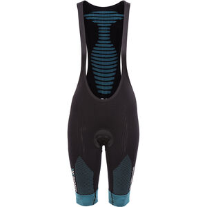 X-Bionic Effektor Power Ow Biking Bib Short Comfort Women Black/Turquoise