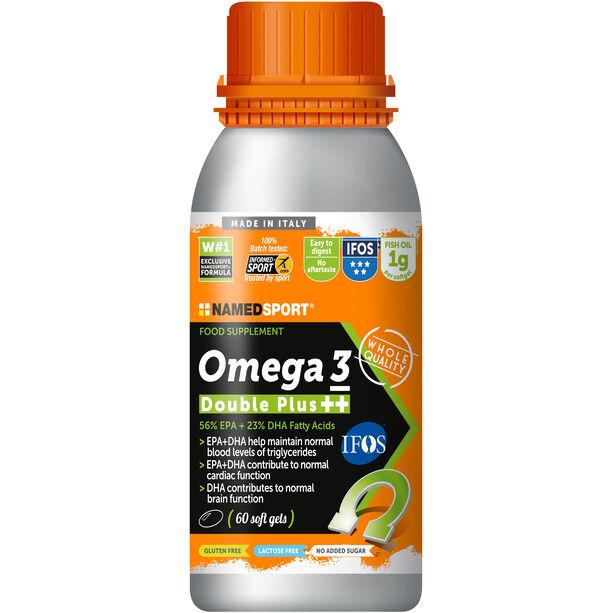 NAMEDSPORT Omega 3 Double Plus 60 Tabletten