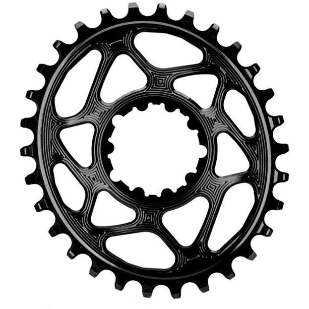 absoluteBLACK Ovales Kettenblatt für SRAM XX1 Spiderless black