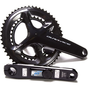 Stages Cycling Power LR Powermeter Crank Set for Shimano Dura-Ace R9100 50/34 Teeth