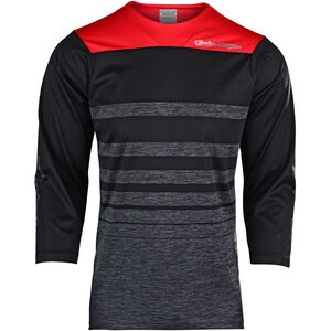 Troy Lee Designs Ruckus 3/4 Jersey Herren streamline/heather black/black streamline/heather black/black
