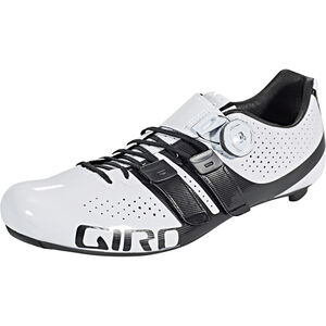 Giro Factor Techlace Shoes Herren white/black white/black