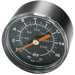 SKS Manometer 16 bar R1/4 Rennkompressor schwarz bei fahrrad.de Online