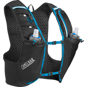 CamelBak Ultra Pro Trinkrucksack Weste with Quick Stow Flask black/atomic blue black/atomic blue
