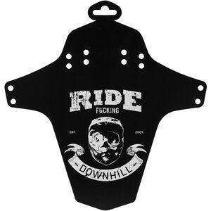 Reverse Ride Fucking Downhill Schutzblech schwarz/weiß schwarz/weiß