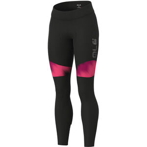 Alé Cycling Solid Pulse Tights Damen black-prune-fluo pink black-prune-fluo pink