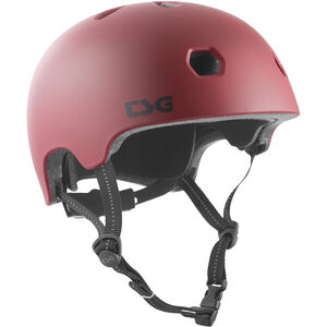 TSG Meta Solid Color Helmet satin oxblood satin oxblood